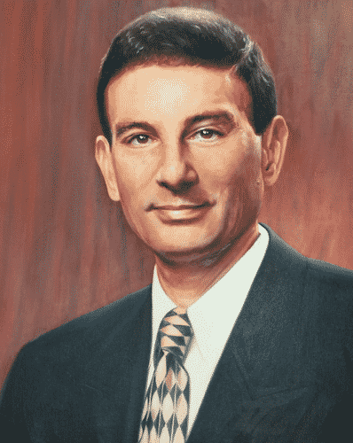 NYIT President Matt Schure Oil on Canvas by Todd Krasovetz